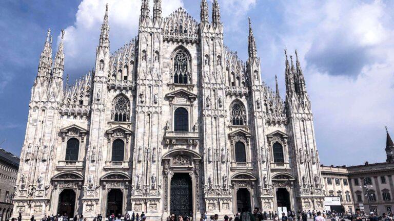 米蘭Milano 浮誇驚艷的米蘭大教堂&精品大街-艾曼紐二世迴廊