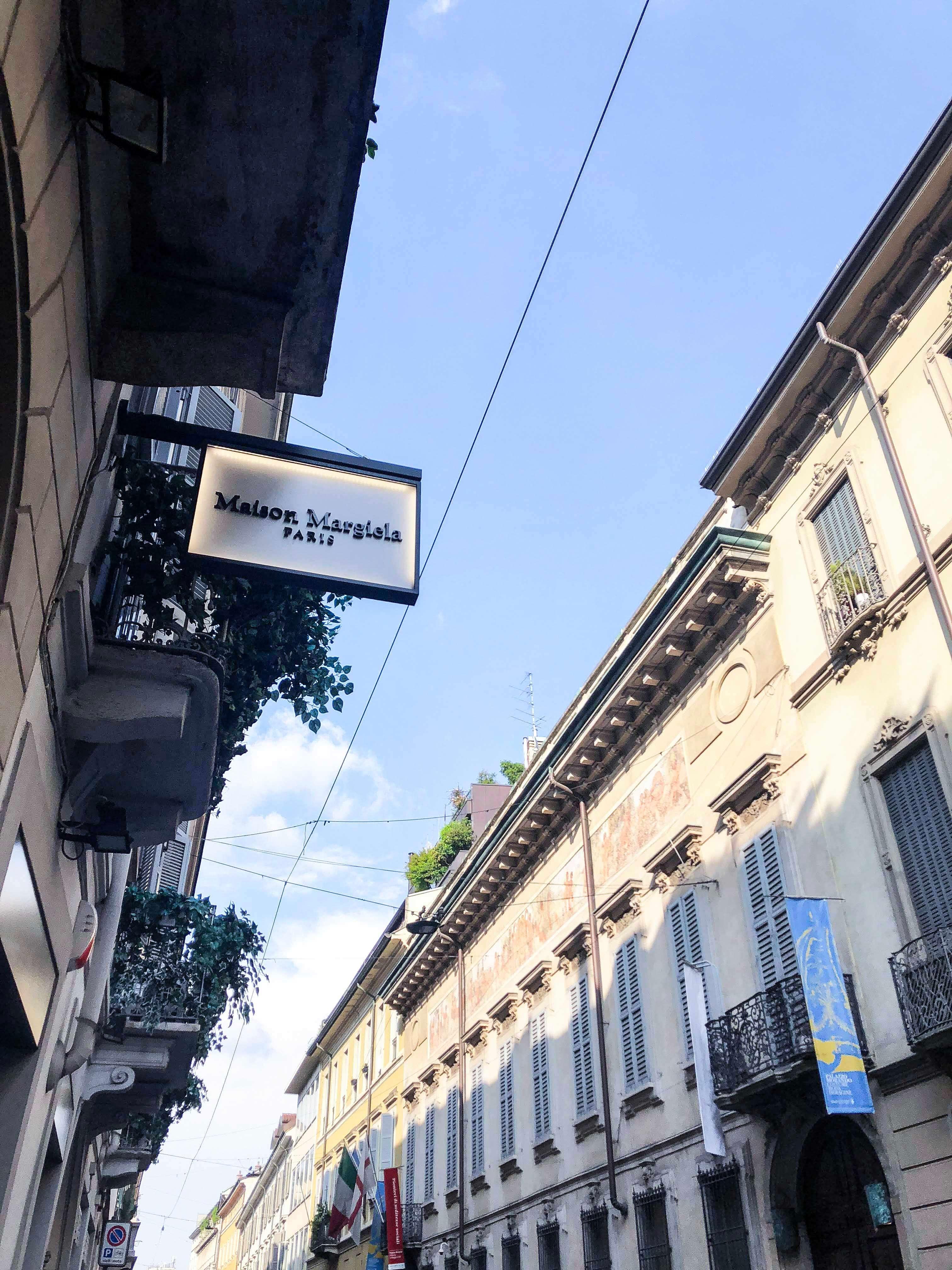 米蘭逛街精品街區