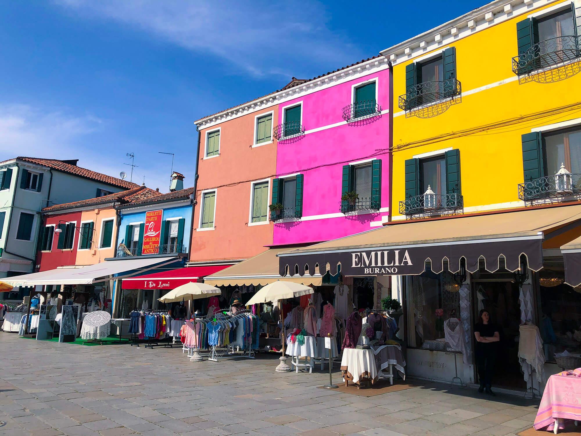 義大利彩色島威尼斯