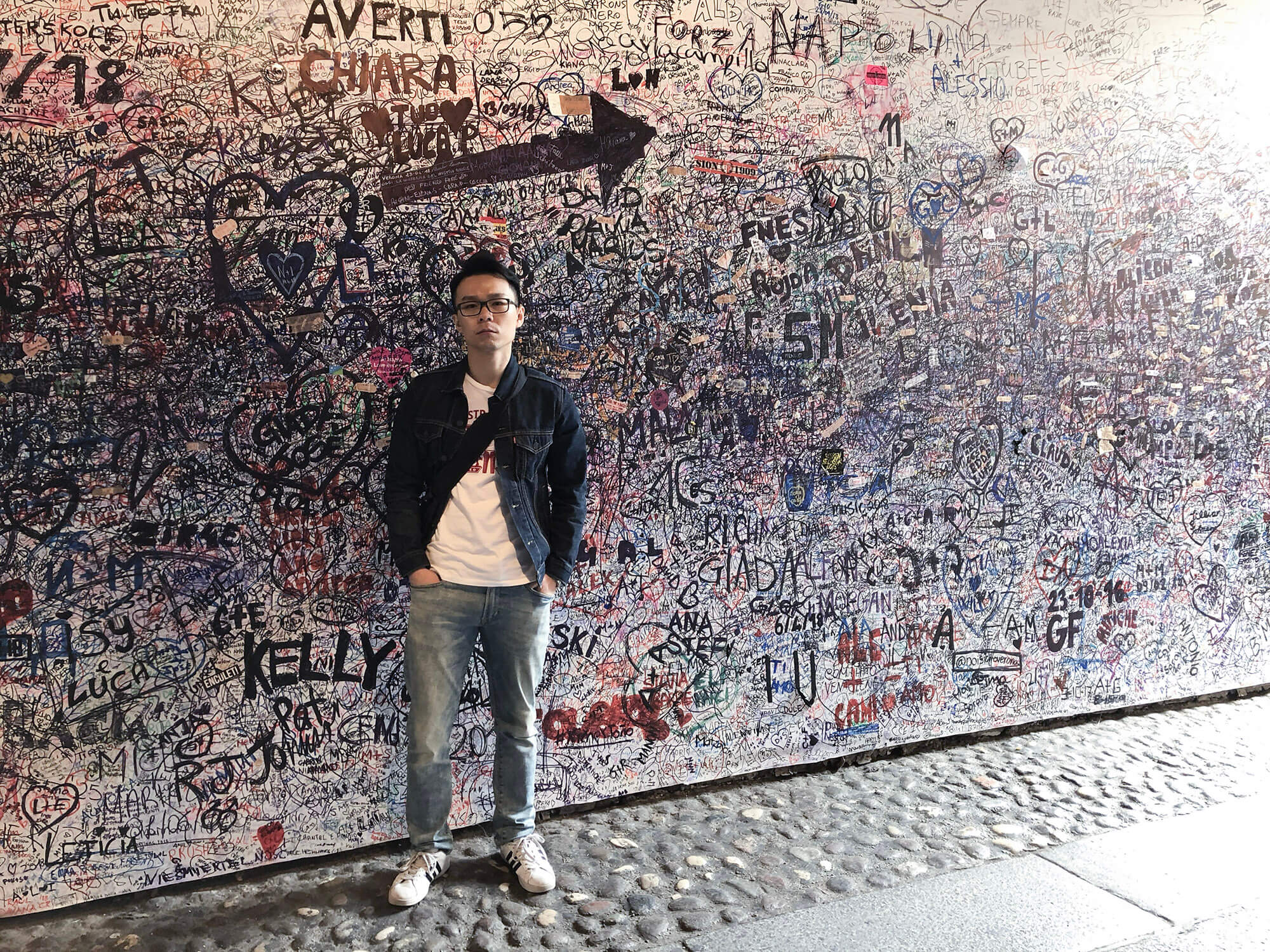 維諾那_茱麗葉的故居_隧道塗鴉