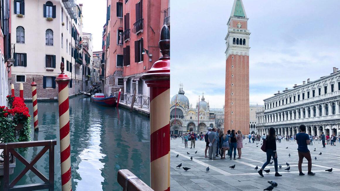 威尼斯Venice水都|威尼斯火車站&大運河,啊!原來威尼斯這樣被建造在水中的!