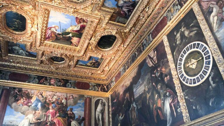 威尼斯道奇宮|華麗宮殿行禮&體驗上嘆息橋,望威尼斯最後一眼的罪犯心情