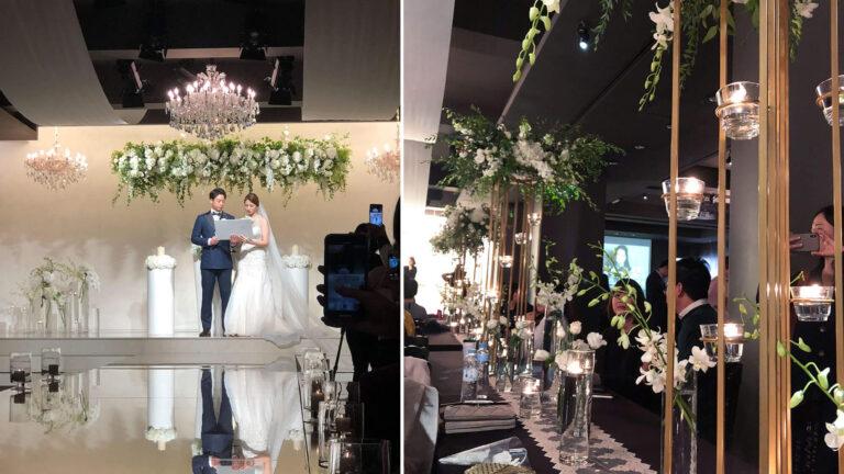 韓國婚禮|位於首爾明洞PJ Hotel的超浪漫婚禮,韓式婚禮流程體驗