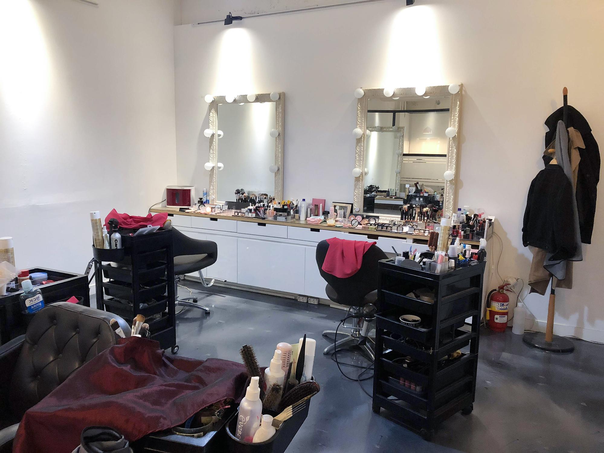 化妝梳妝台區