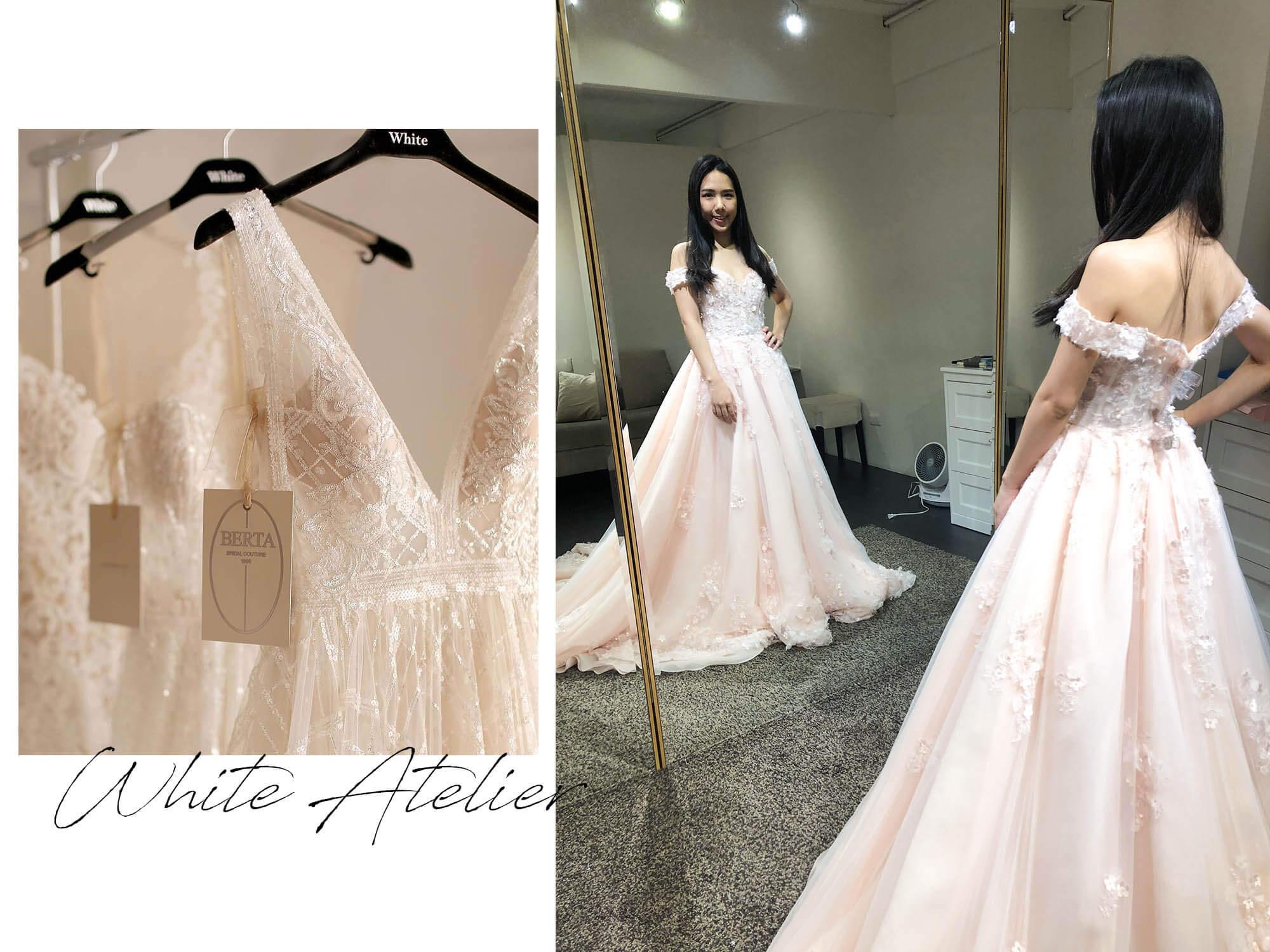 White Atelier手工婚紗|紅毯女星禮服原來都在這挑!訂結婚禮服&白紗試穿諮詢