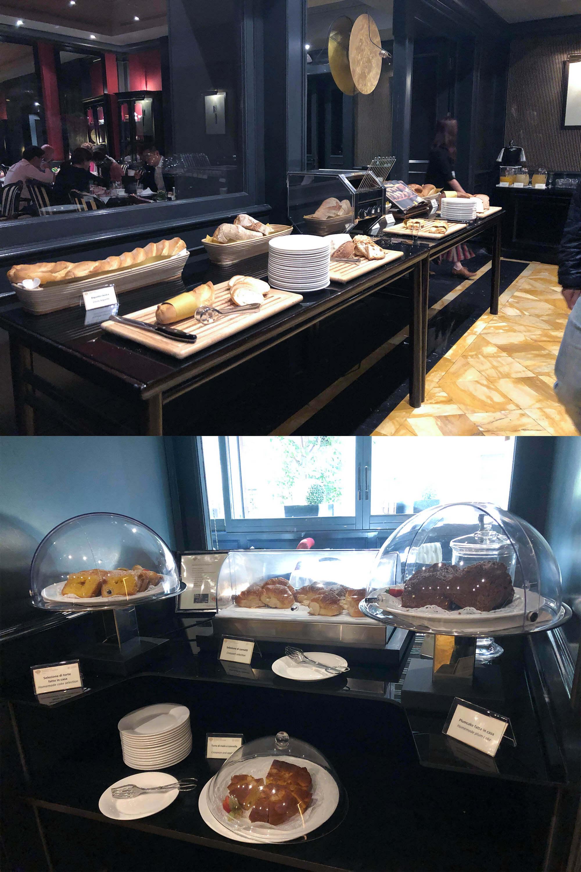 baglioni hotel早餐吧