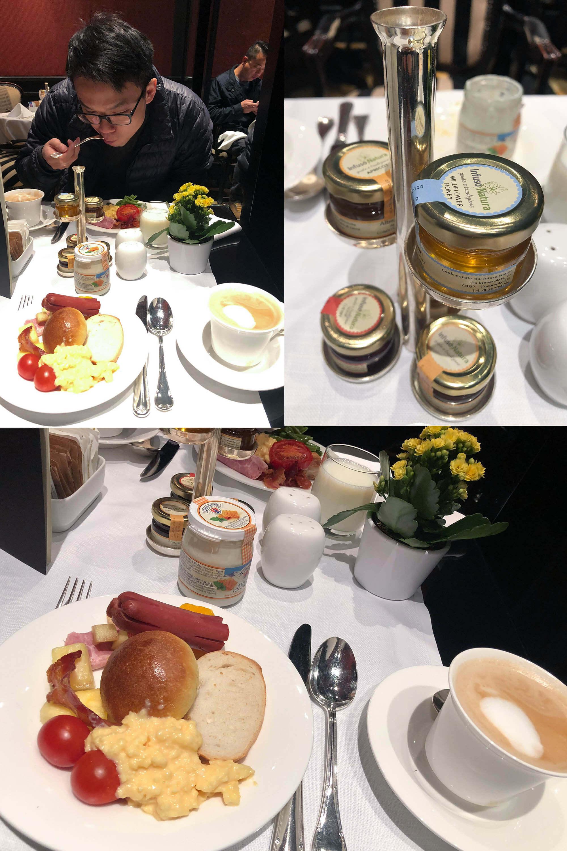 baglioni hotel早餐