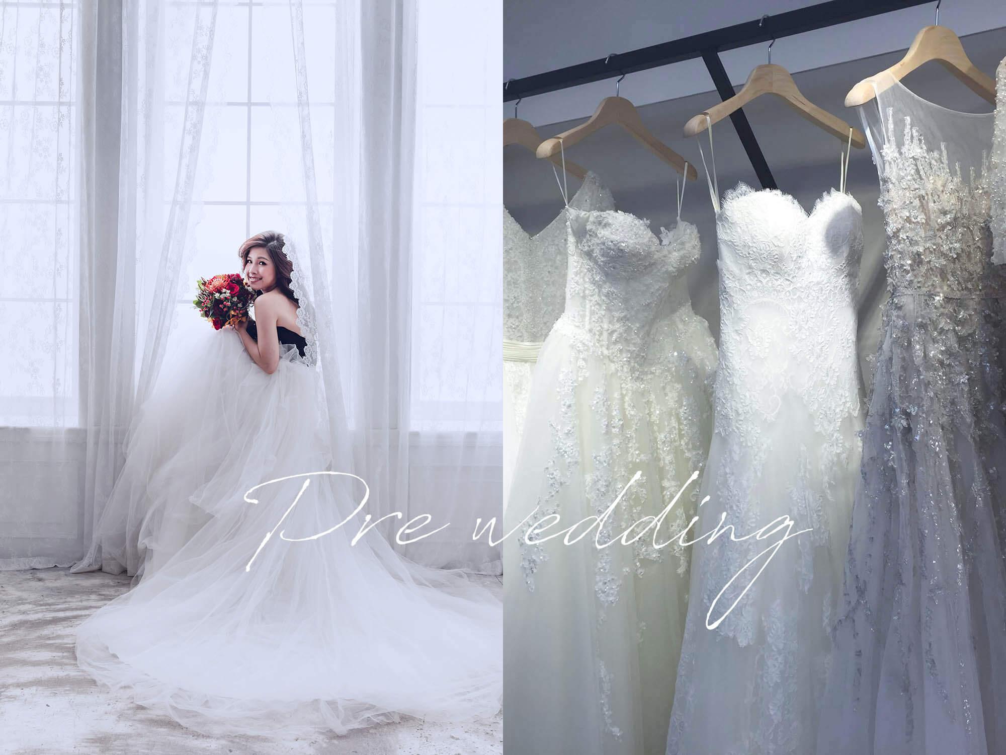 婚紗照禮服&攝影師推薦|Red Carpet紅毯手工婚紗、HelenYeh,婚紗照款挑選成果全記錄