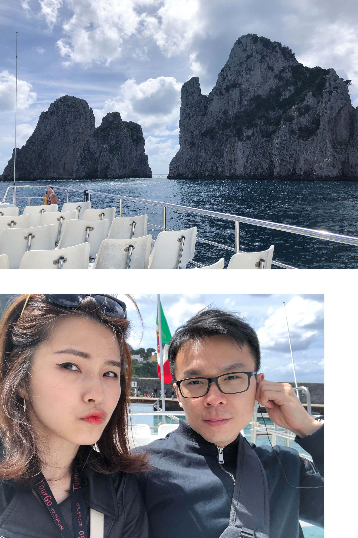 卡布里島搭船環島