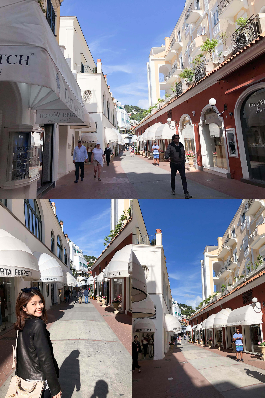 卡布里島商店街