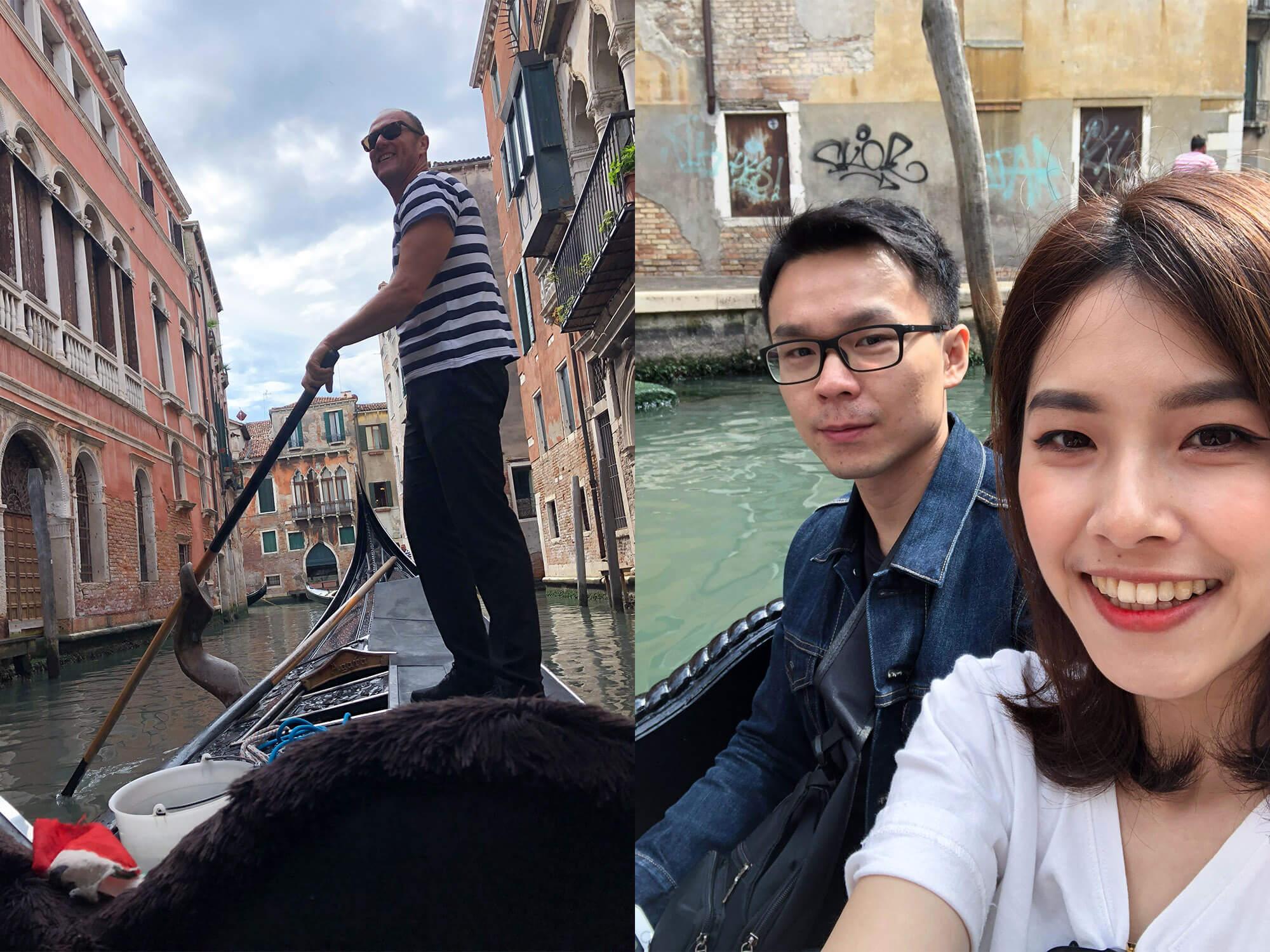 遊威尼斯搭乘貢多拉1
