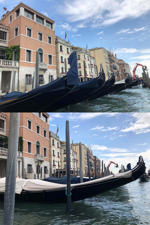 遊威尼斯搭乘貢多拉2