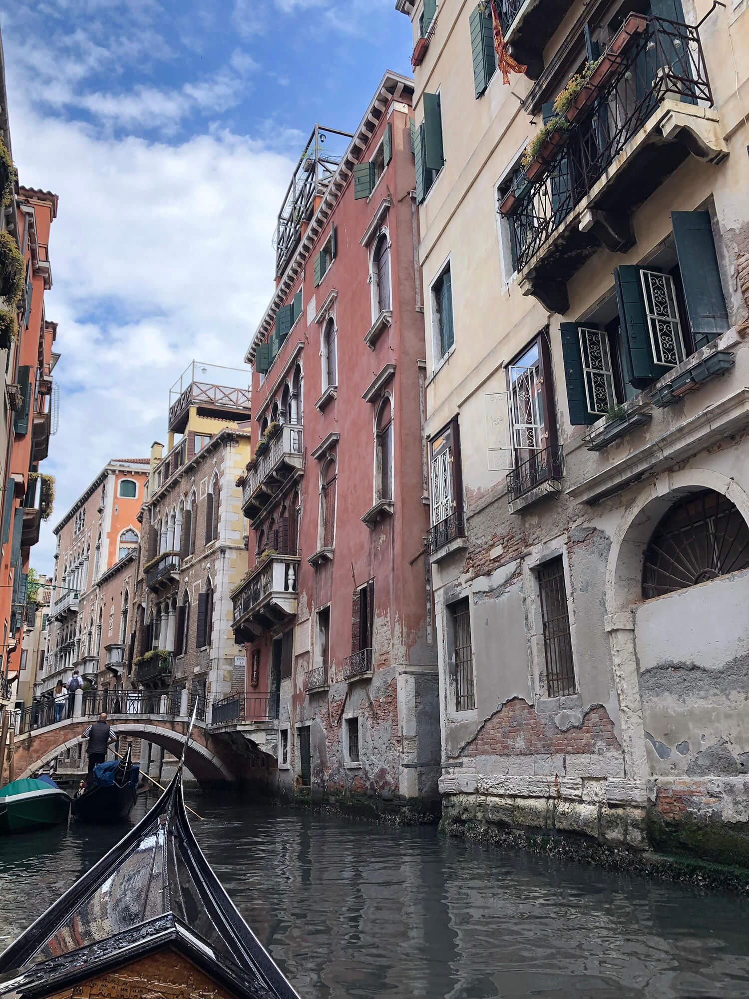 遊威尼斯搭乘貢多拉5
