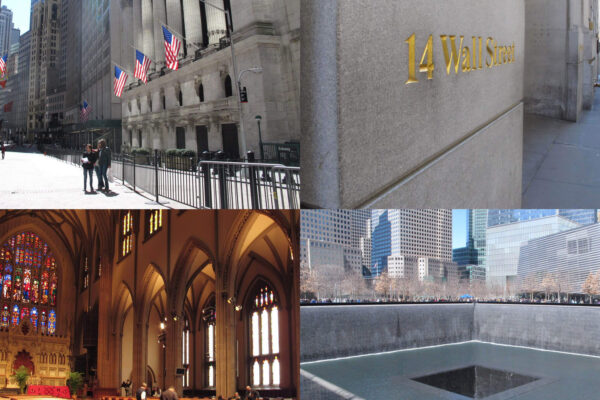 紐約景點|911遺址、華爾街銅牛、三一教堂半日行程推薦