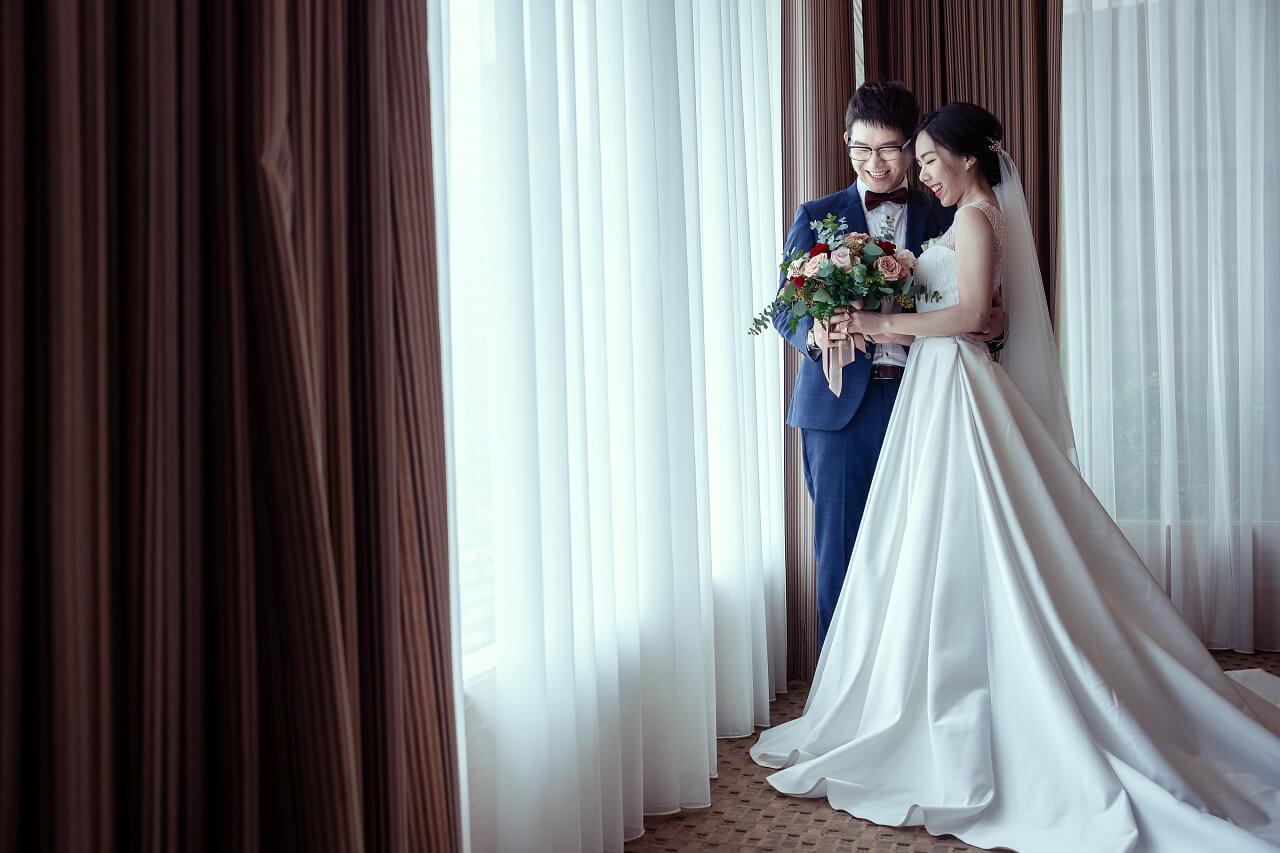 新郎新娘合照