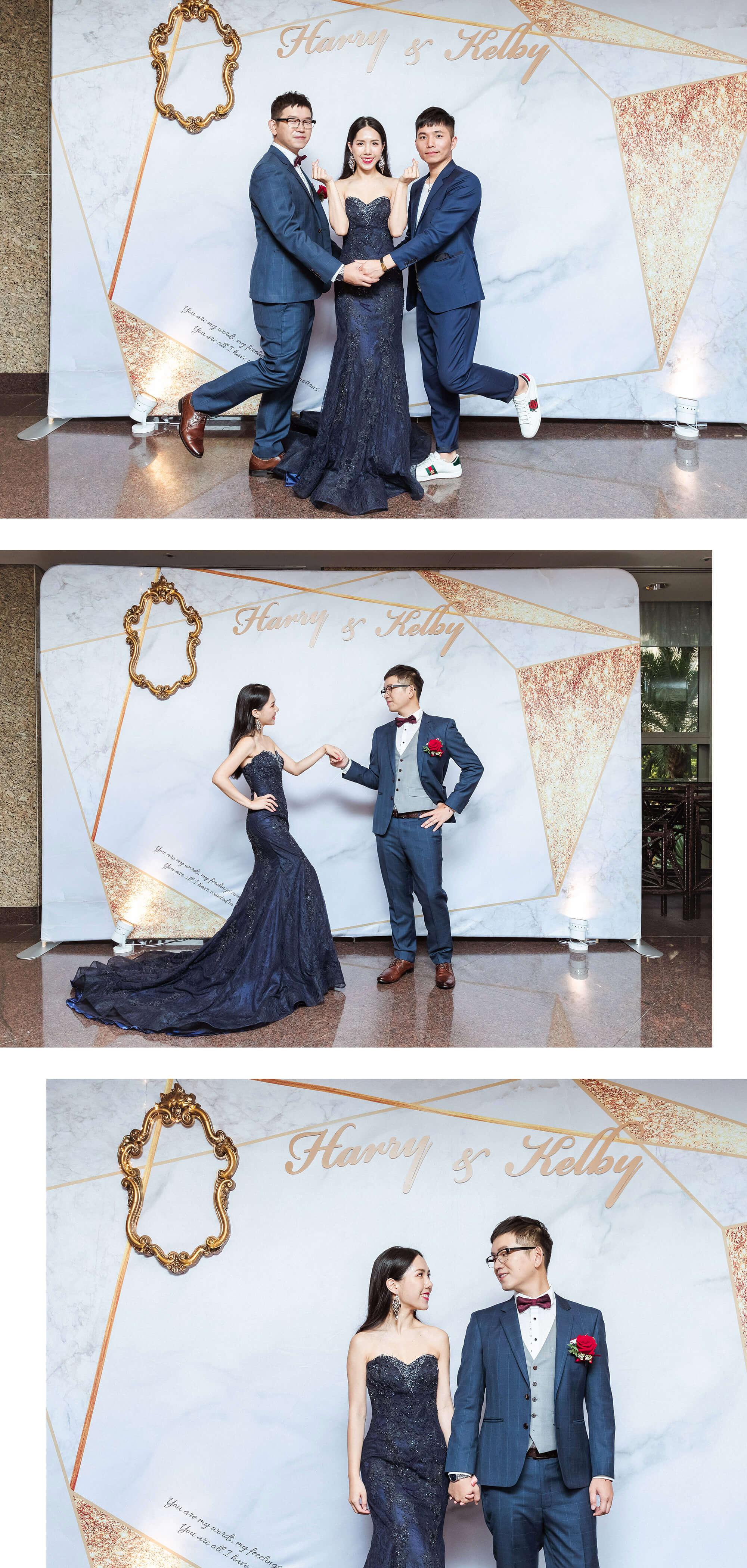 訂婚送客禮服
