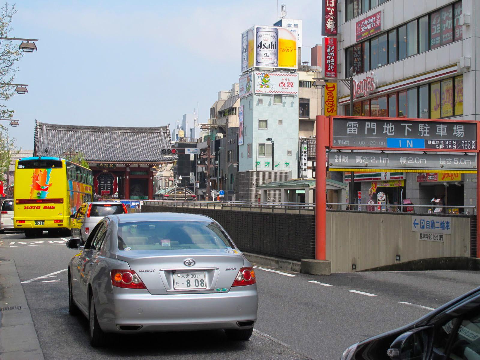 淺草寺周圍