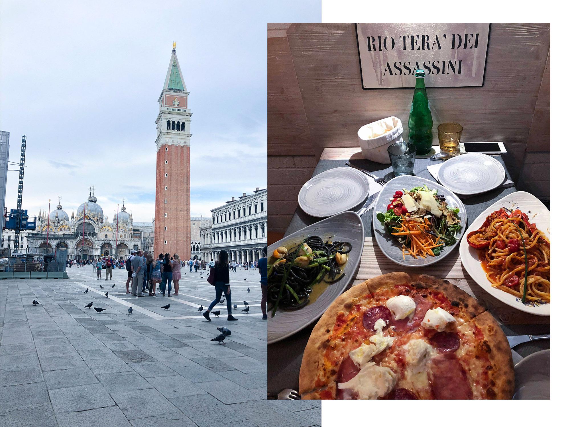 威尼斯餐廳推薦|義大利威尼斯必吃的Top8.美食(墨魚麵/龍蝦義大利麵/海鮮)