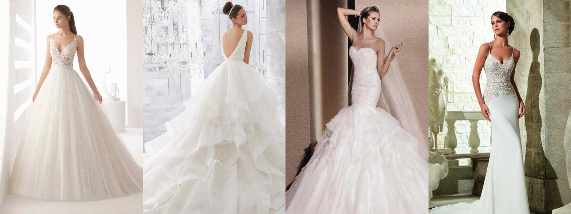 裙擺類型-婚紗統整