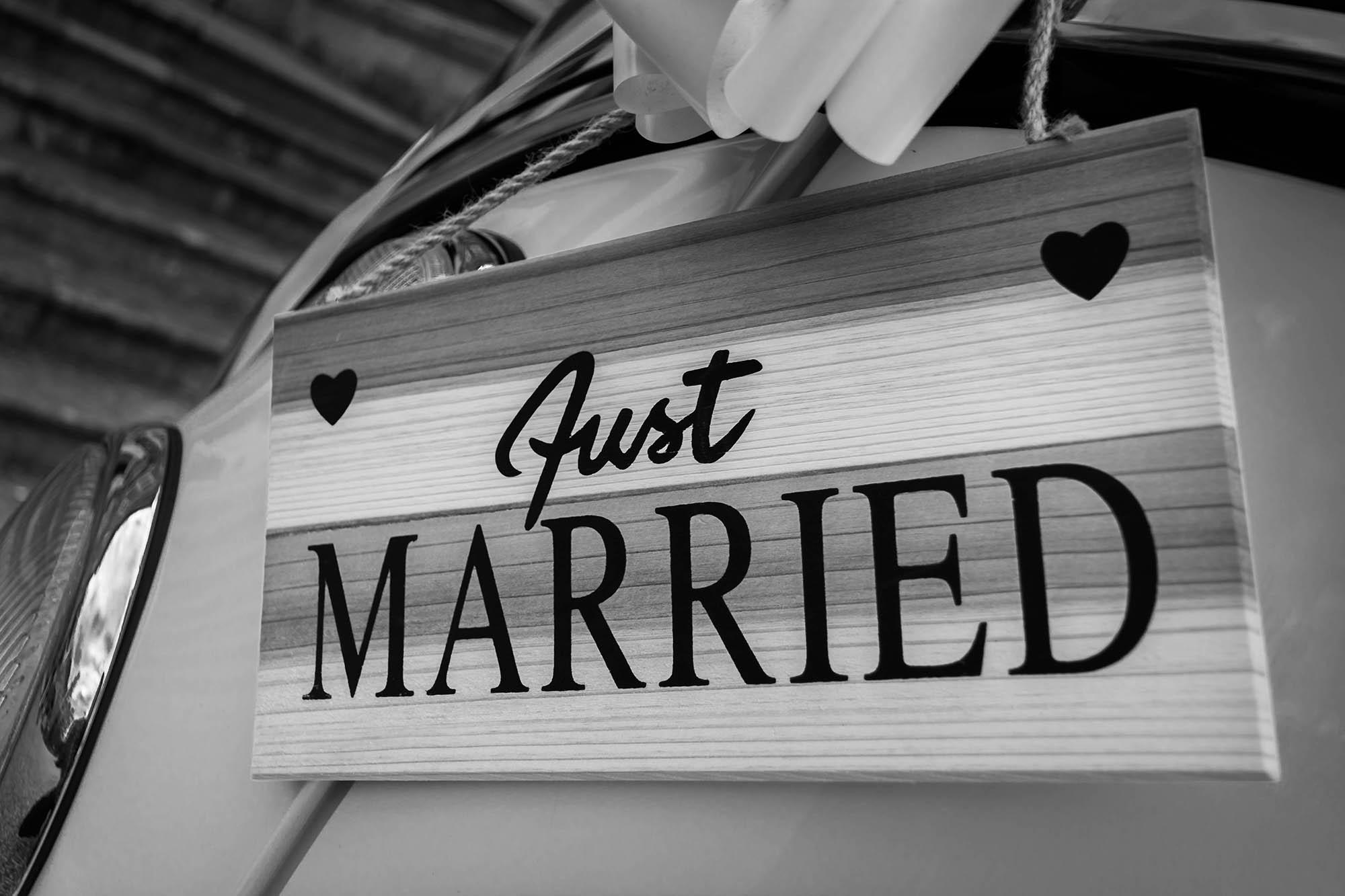結婚示意圖