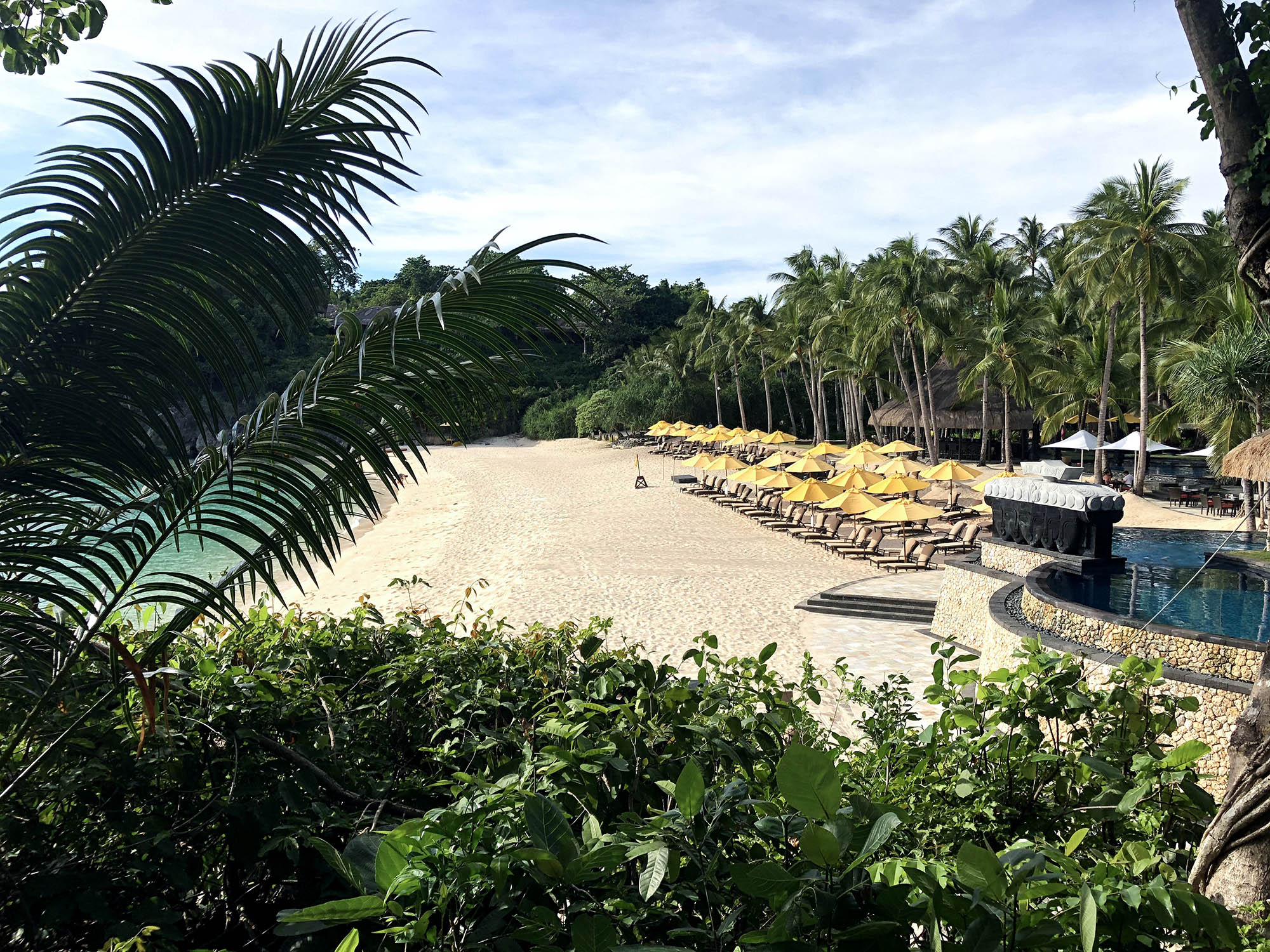 香格里拉私人沙灘