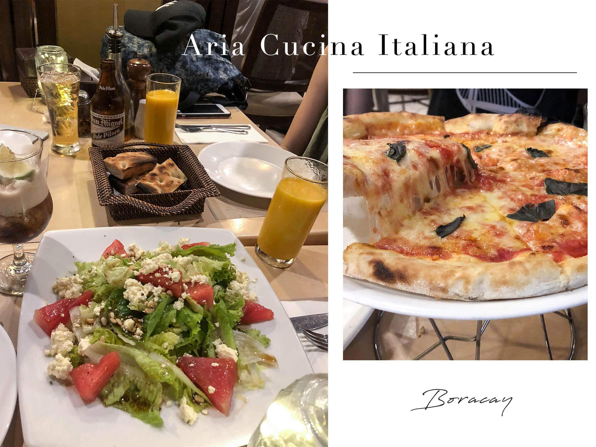 長灘島餐廳|老牌必吃美食Aria Cucina Italiana,大推Pizza!