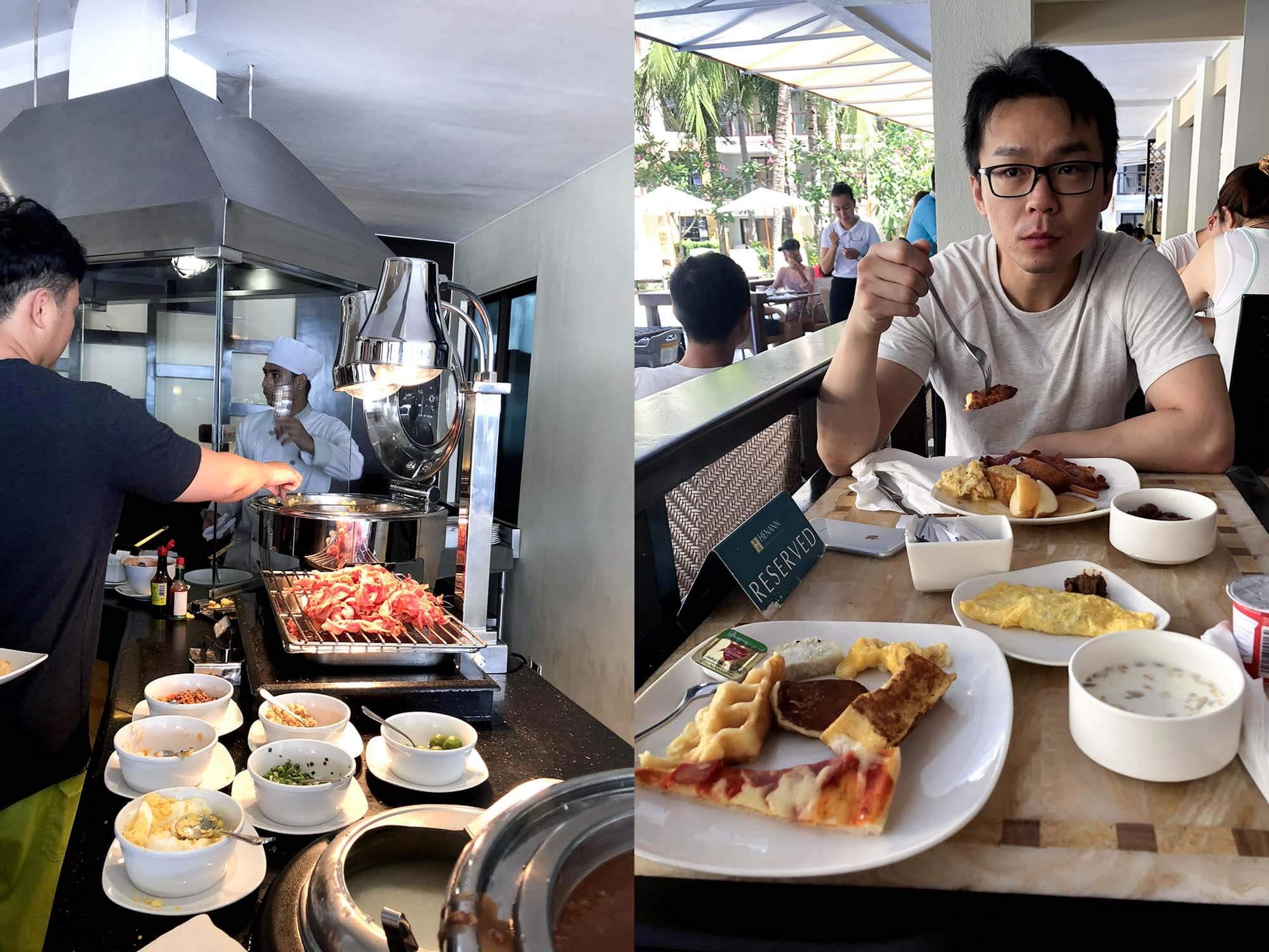 HenannLagoon_吃早餐