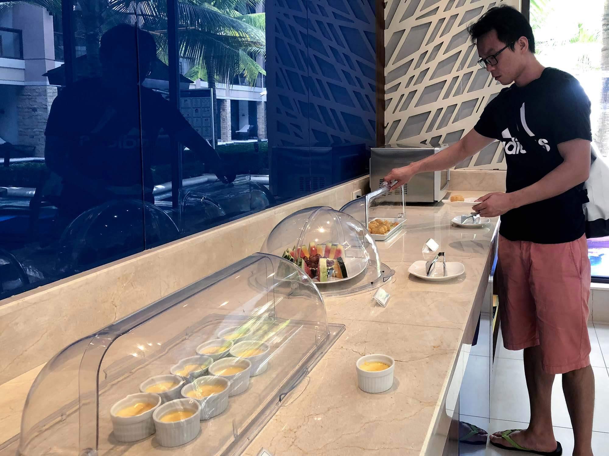 HenannLagoon_viplounge水果區