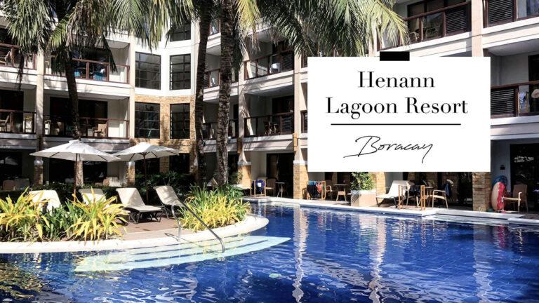 長灘島住宿|Henann Lagoon Resort麗晶潟湖超美的池畔房,走下陽台台階就可直接游泳