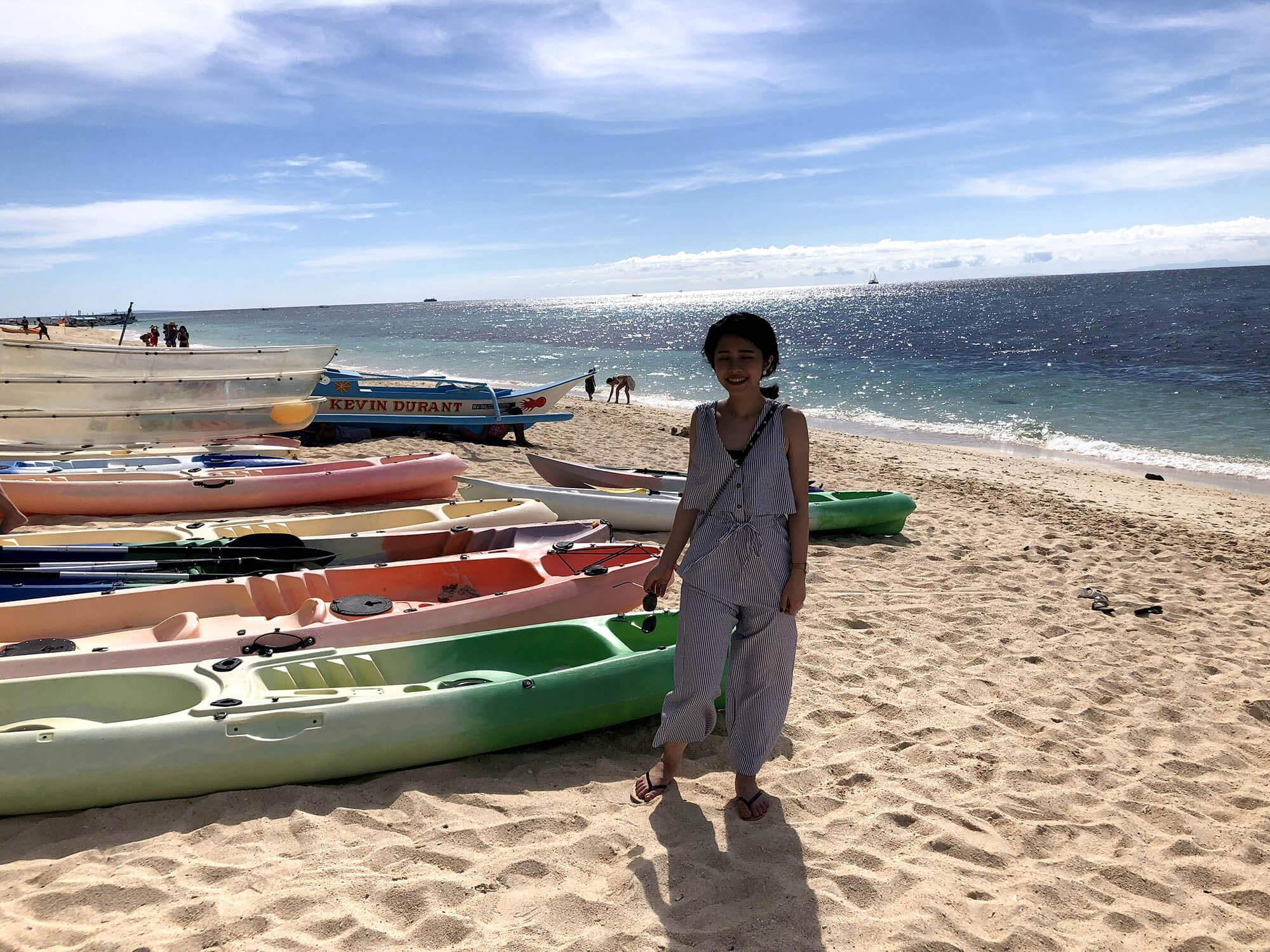 pukabeach海灘船
