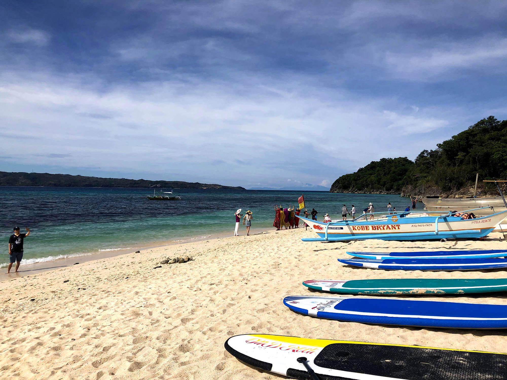 pukabeach海灘衝浪板
