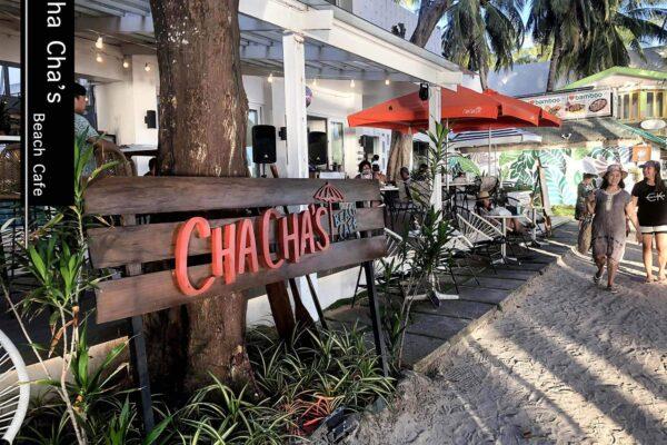長灘島|在沙灘上發懶一天吧!度假熱帶風情餐廳推薦-ChaCha's Beach Cafe