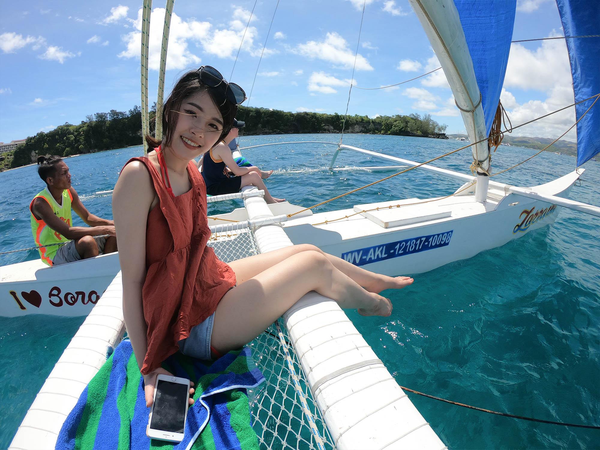 搭風帆船2
