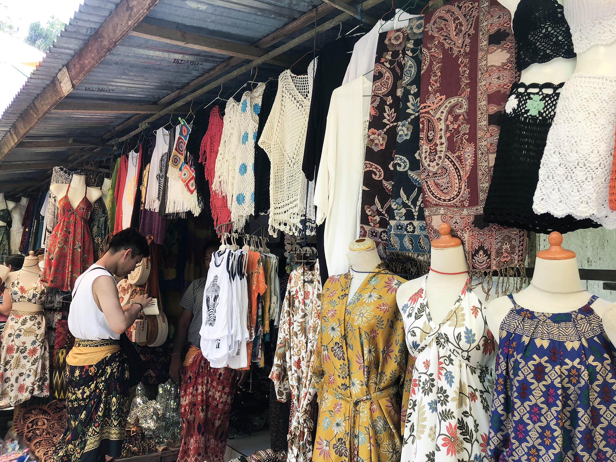 聖泉寺商店街賣衣服