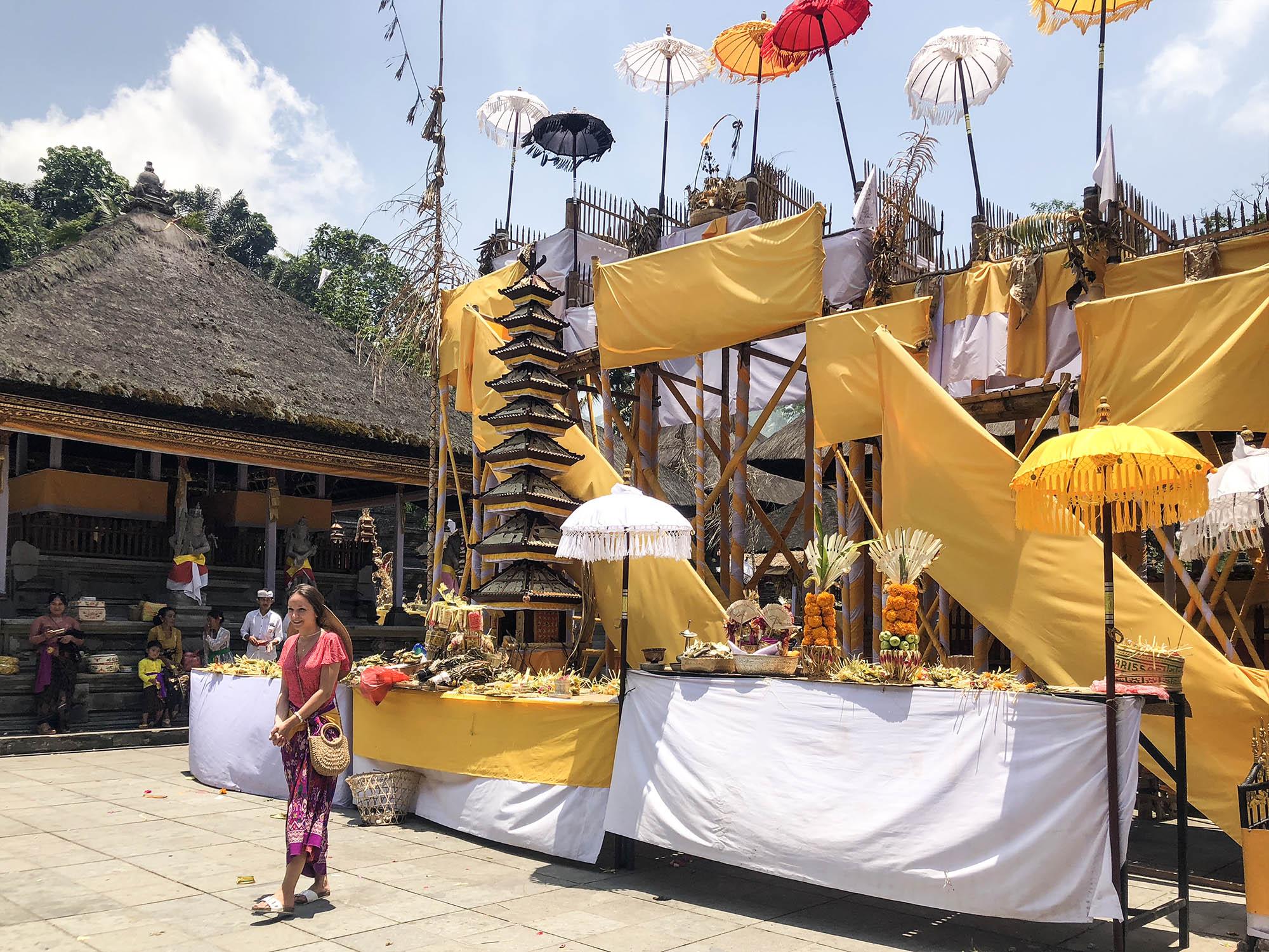 聖泉寺旁邊祭祀擺設