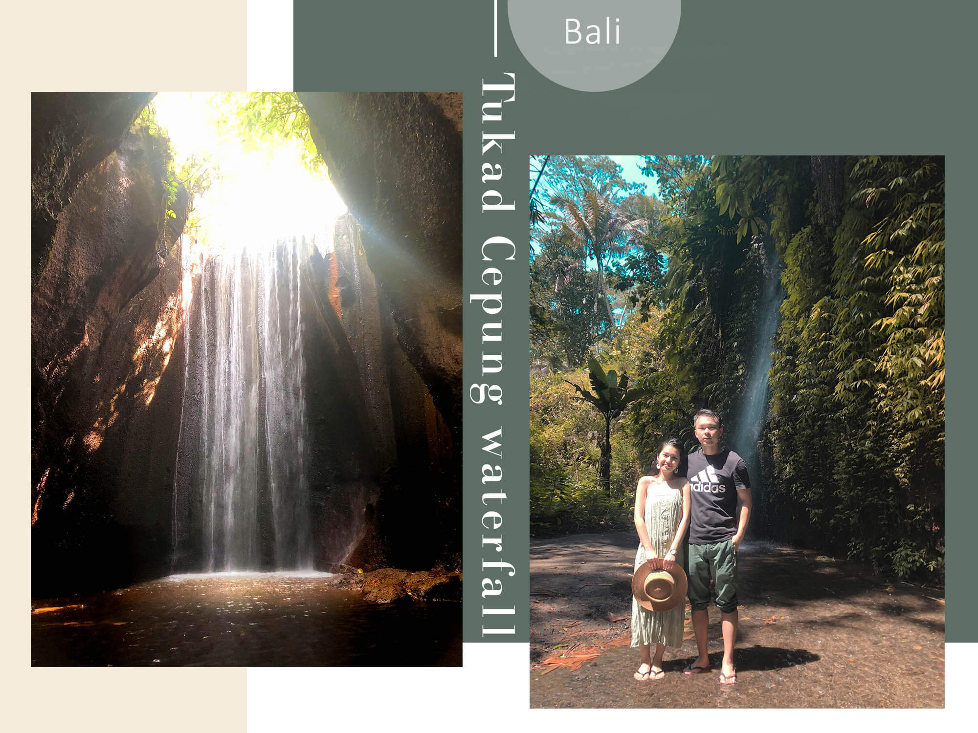 峇里島Bali|太美!是仙境入口?Tukad Cepung Waterfall秘境瀑布探索&注意事項