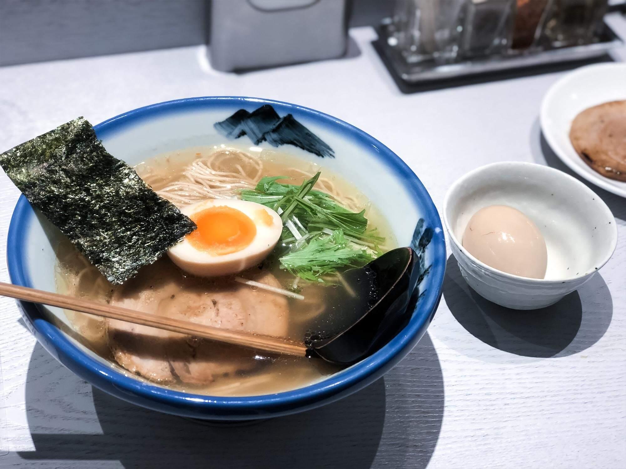 AFURI_六本木_柚子鹽拉麵