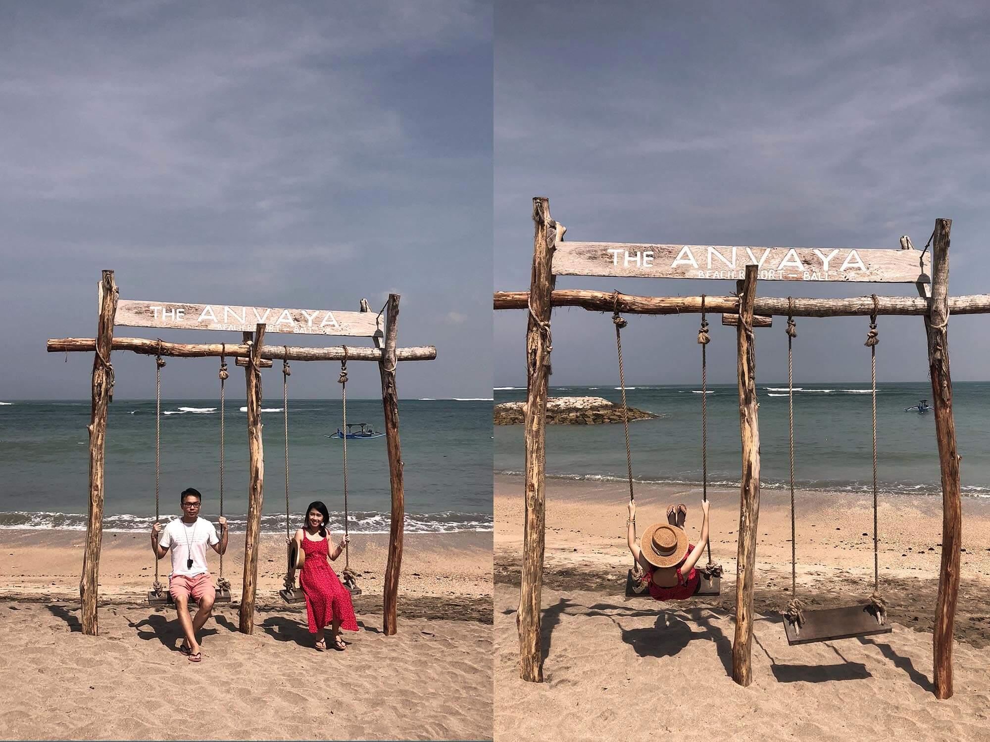 ANVAYA_BAli海邊鞦韆