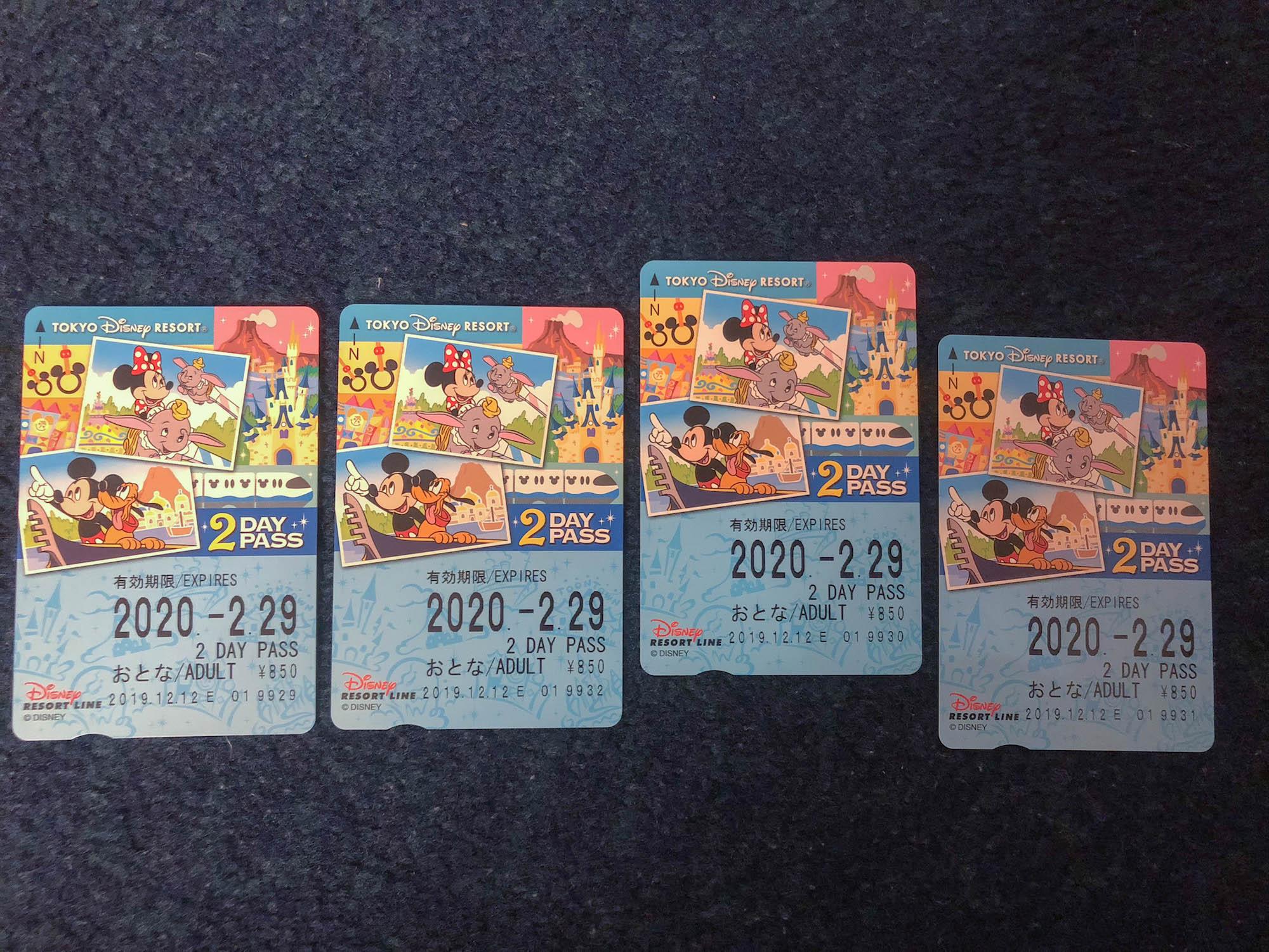 東京迪士尼飯店_美女與野獸房單軌列車免費券