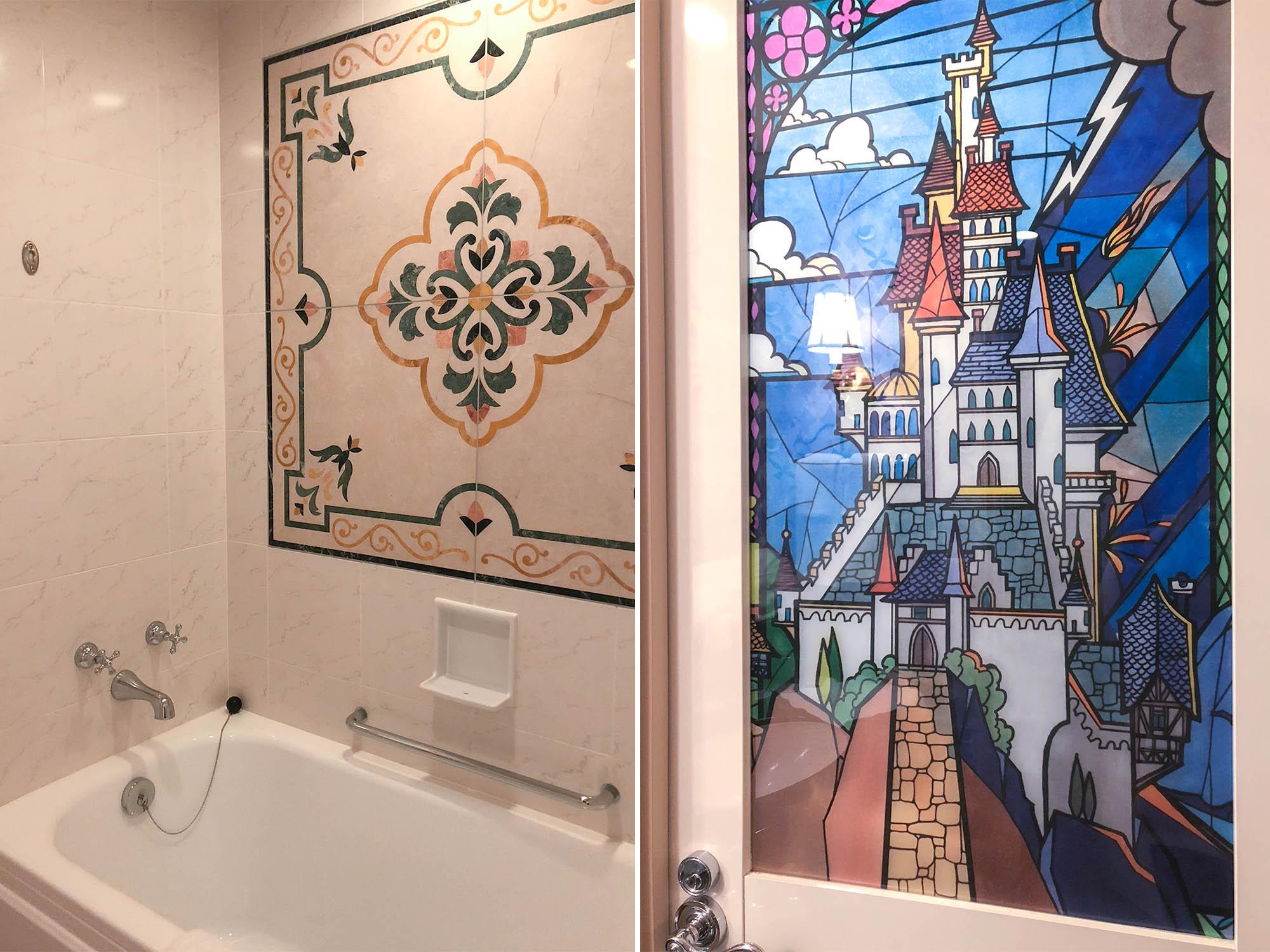 東京迪士尼飯店_美女與野獸房廁所2