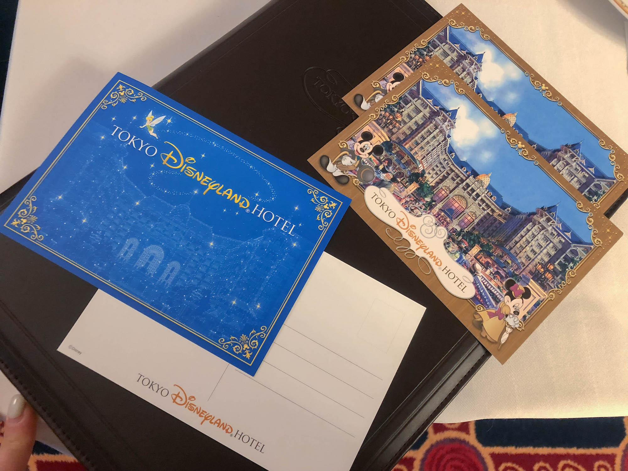 東京迪士尼飯店_美女與野獸房明信片
