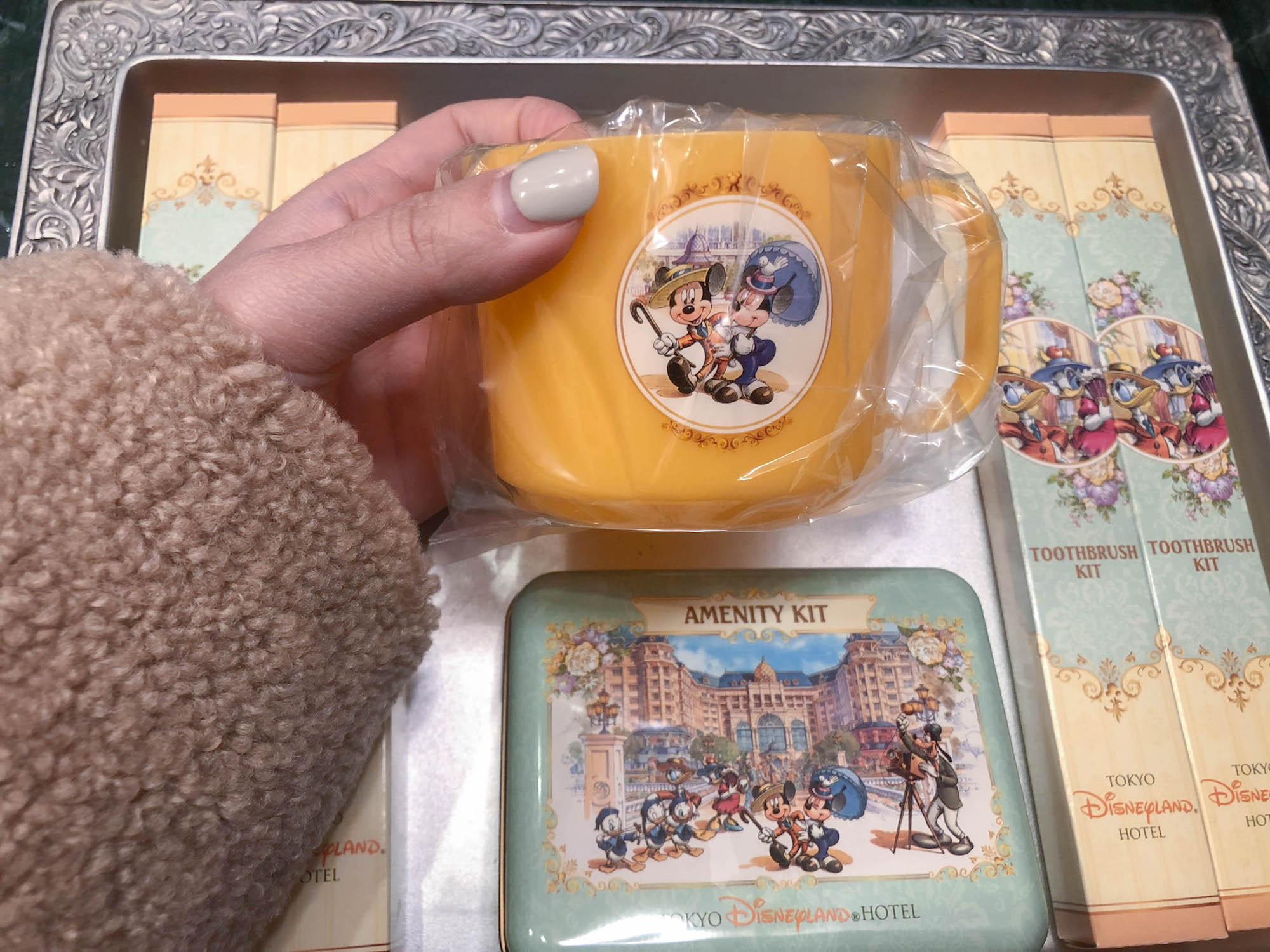 東京迪士尼飯店_美女與野獸房盥洗用品1