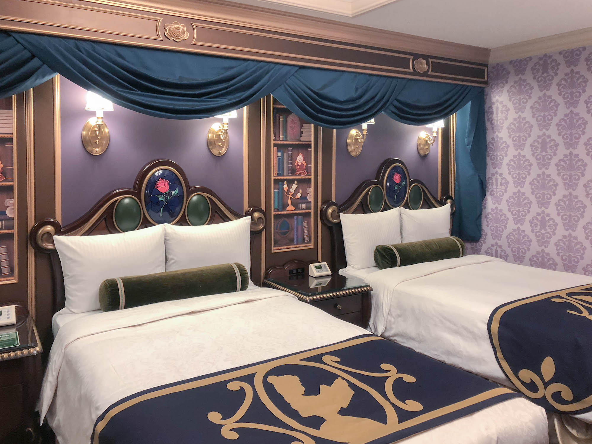 東京迪士尼飯店_美女與野獸房4