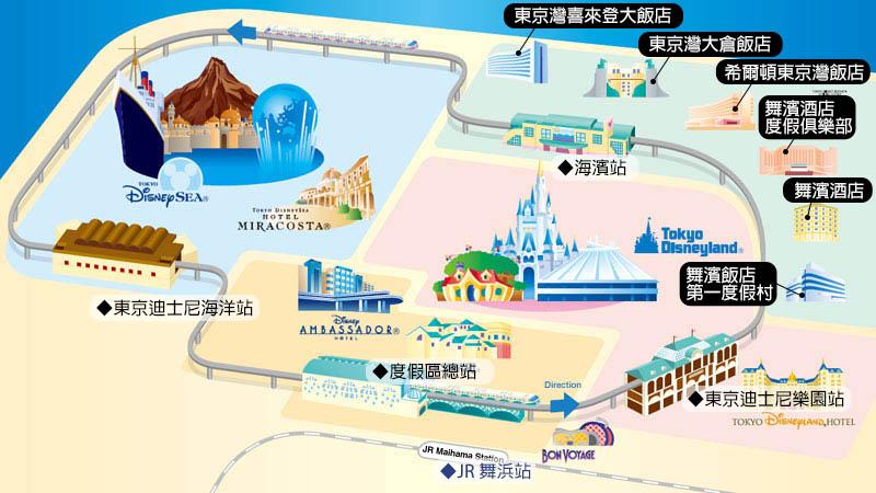 東京迪士尼_周邊公認飯店1