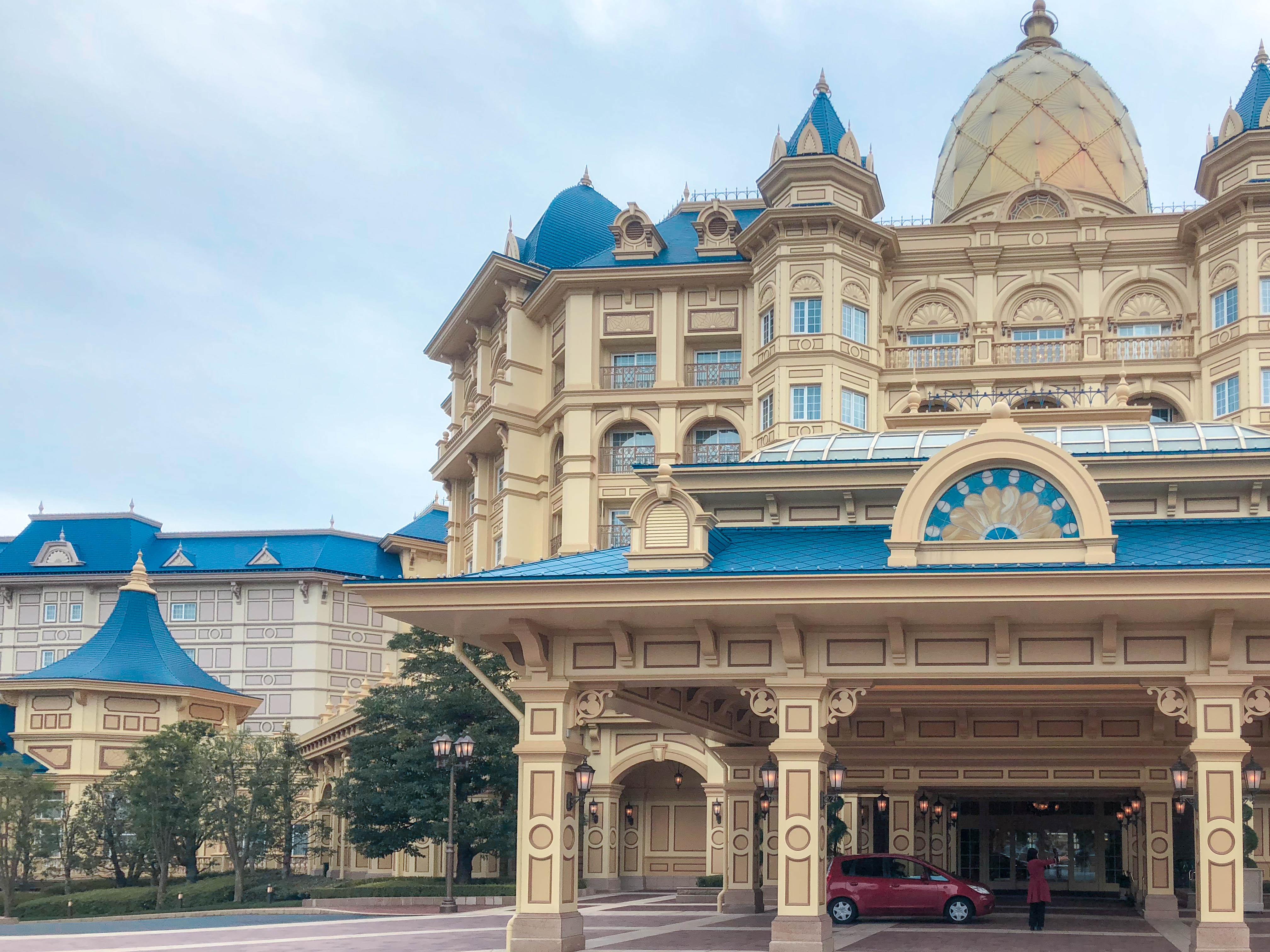 迪士尼樂園飯店_大門口