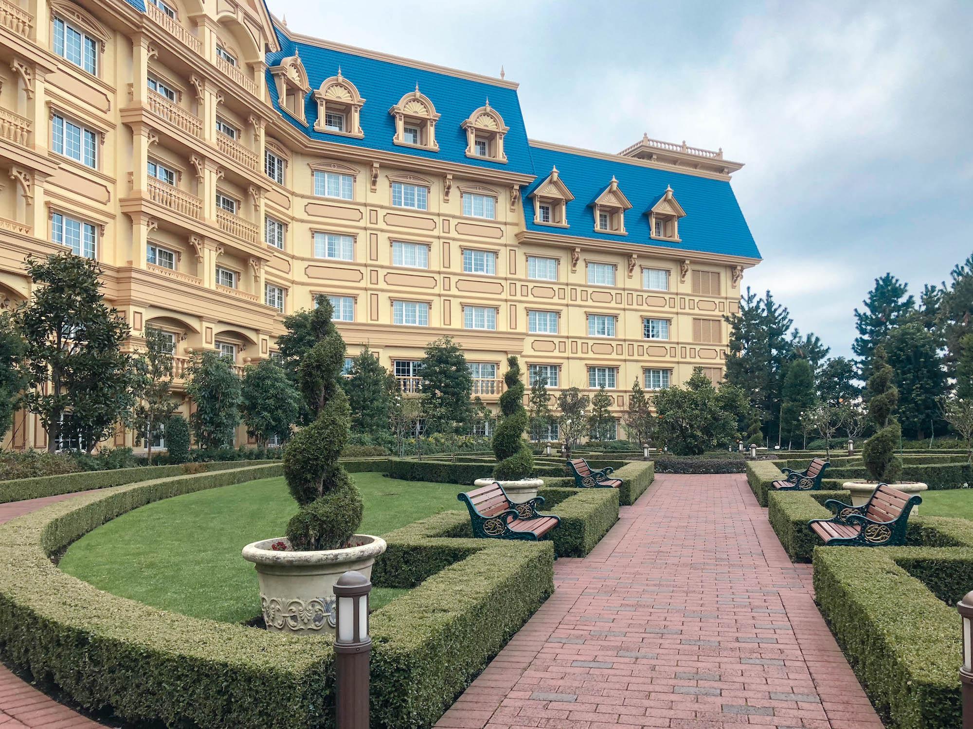 迪士尼樂園飯店_愛麗絲花園