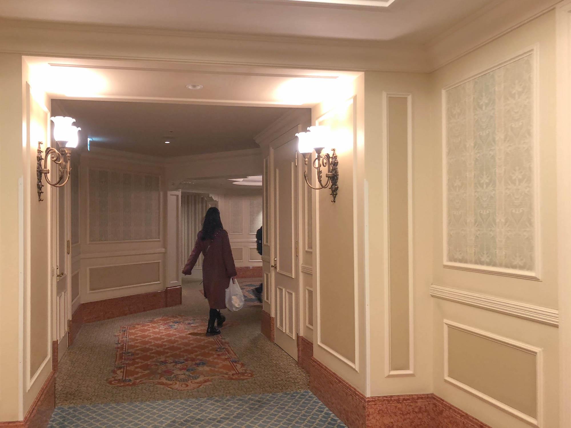 迪士尼樂園飯店_走廊1
