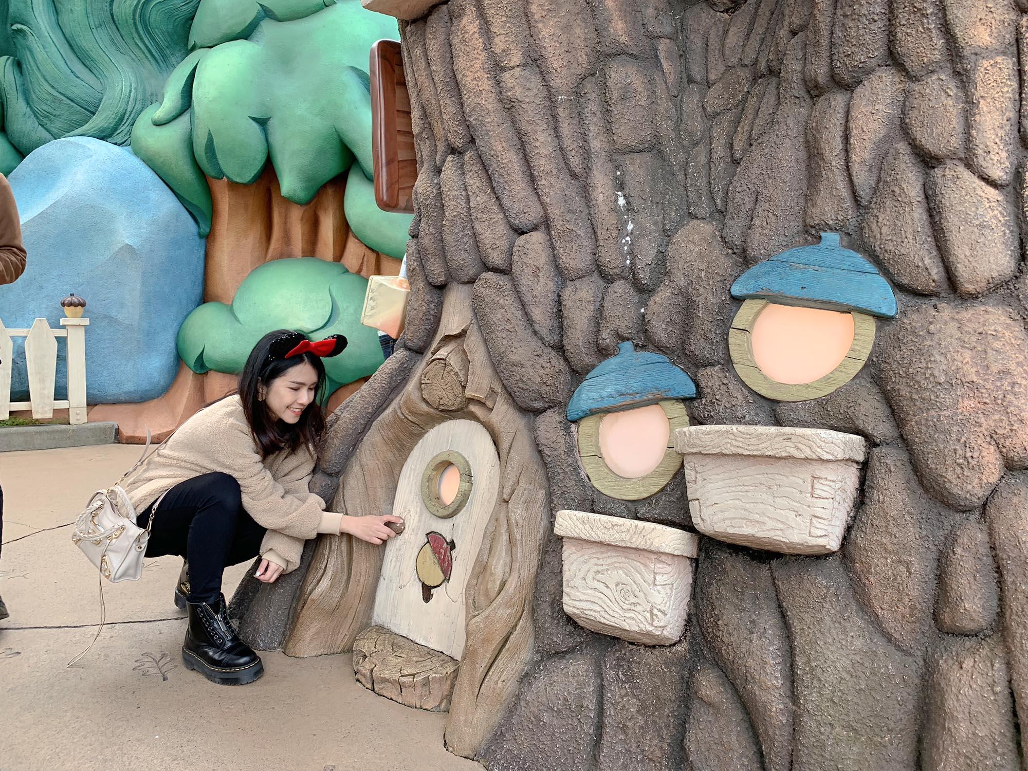 迪士尼樹屋開門