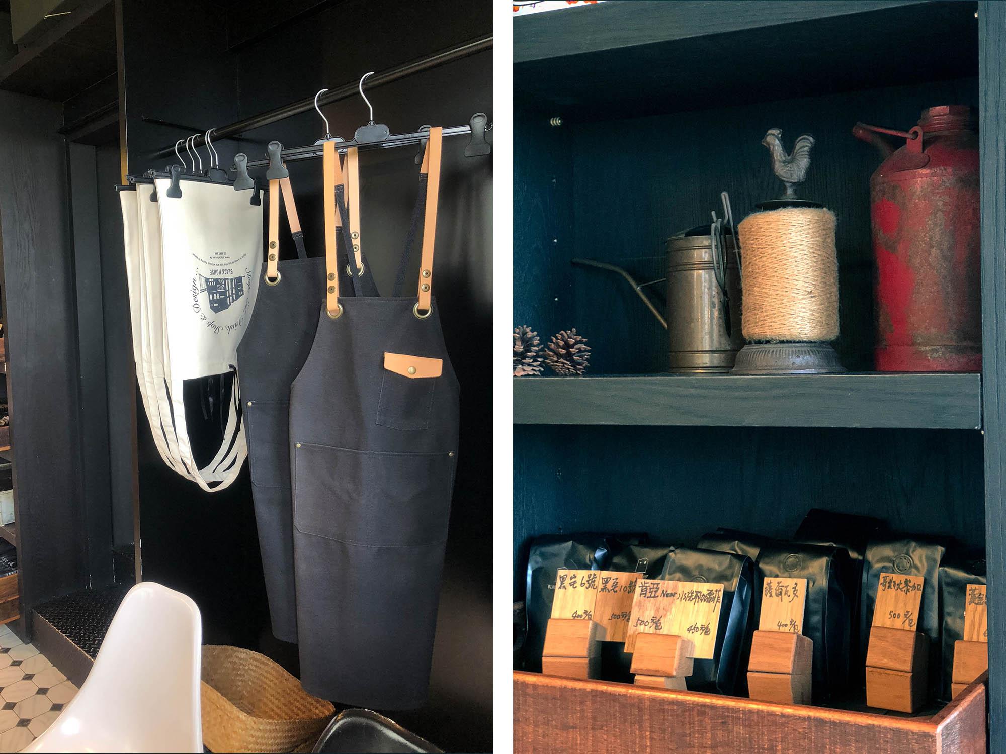 黑宅咖啡販售麻布袋&咖啡