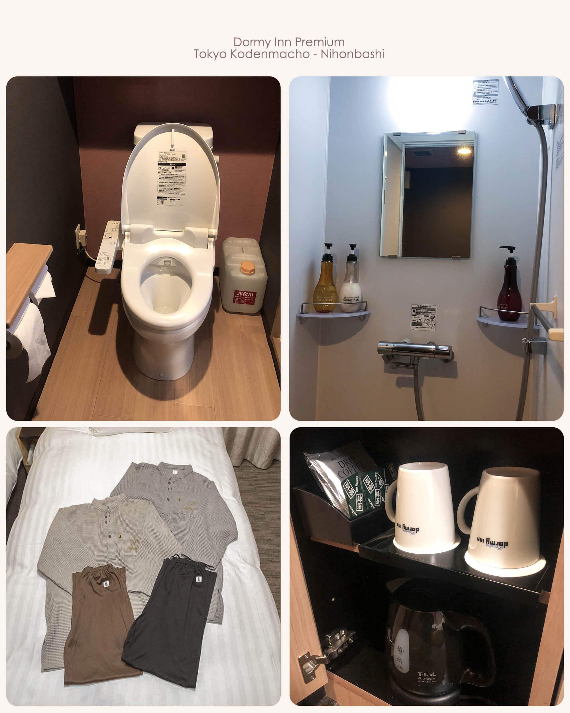 Dormyinn房間設施&廁所